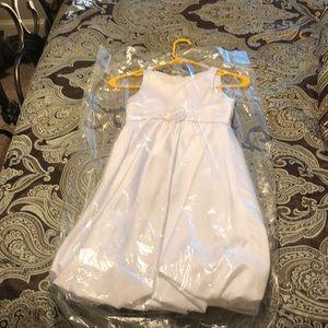 David's Bridal Flower Girls Dress